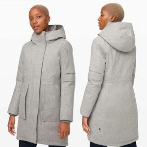 NWT Lululemon Winter Warrior Parka *Wool